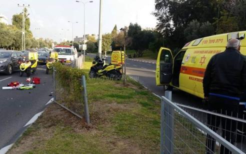 3 פצועים בתאונה בין שני רכבים בכביש 232 משדה דוד לכיוון צפון