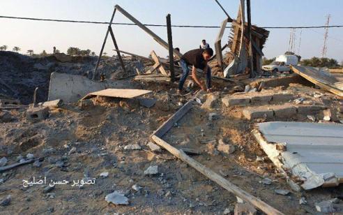 בתגובה לירי הרקטה לעבר שדרות – חיל האוויר תקף יעדי חמאס בעזה