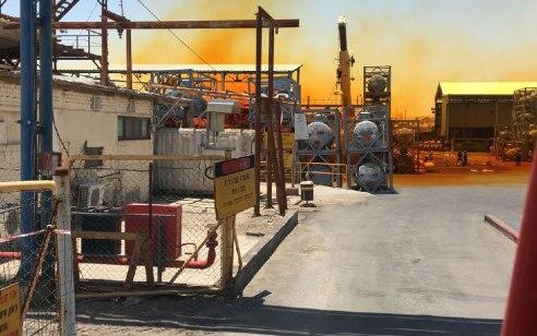 דליפת אמוניה במפעל ״יוניליוור״ בעכו: אזרחים פונו מהסביבה, הרכבות נעצרו