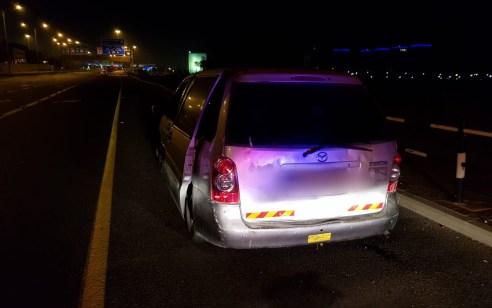 """נהג חדש בן 20 נתפס ללא מלווה מסיע 6 נוסעים במהירות 147 קמ""""ש"""