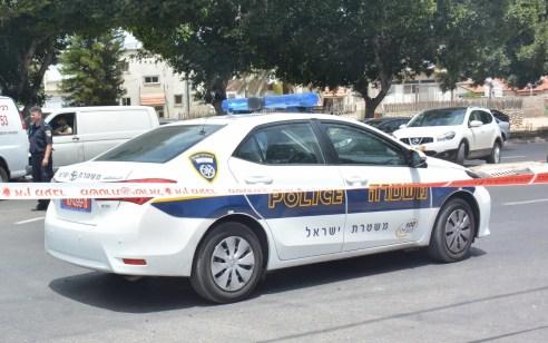 תושב עוספיא בן 41, נעצר בחשד שנהג ברכב מבלי שהוציא רשיון נהיגה, תוך נסיון המלטות רגלית מהשוטרים כשהוא משאיר את 3 ילדיו הקטנים במושב האחורי