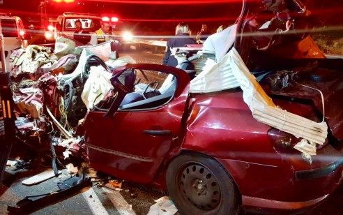 תאונה קטלנית סמוך לביתר: בן 22 נהרג בתאונת דרכים חזיתית בין רכב ואוטובוס בכביש 375