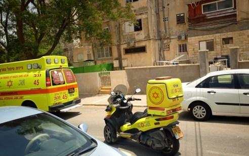 גבר כבן 40 נחתך מדיסק סמוך לביתו בבאר שבע ונפצע קשה