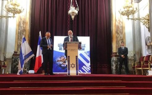 השר דרעי השתתף כנציגה הרשמי של ממשלת ישראל בטקס פרידה למאות עולים בפריז