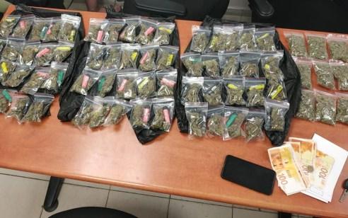 בדקו רישיונות ומצאו סמים – בעל הרכב תושב ראשון לציון נעצר