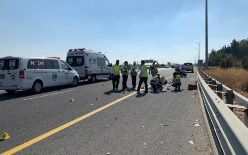 בן 60 עצר בצד הדרך ונהרג מפגיעת רכב בכביש 431 סמוך לאיזור התעשייה מודיעין