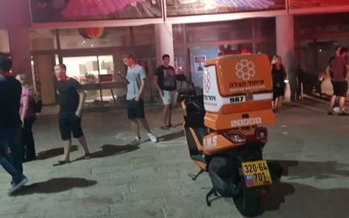 תקרה התמוטטה בקניון קסטרא חיפה – פונו שני נפגעים קל