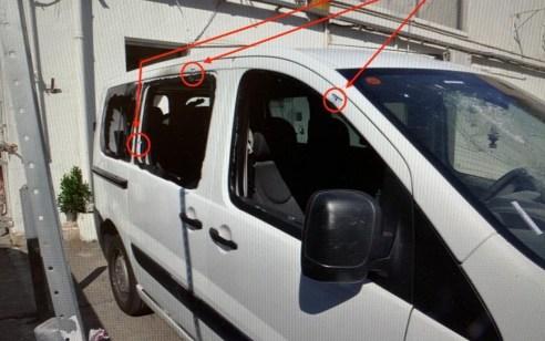 מחאת בני העדה האתיופית: נעצר חשוד שניסה להצית בפתח תקוה ניידת משטרה, גרם נזק לניידות, שרף צמיגים וזרק בקבוקי תבערה לעבר שוטרים