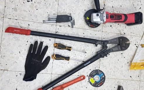 המאבק בפשיעת הרכוש: נעצרו 2 חשודים בהתפרצות למחסן ציוד טכני/מכאני בנתיבות