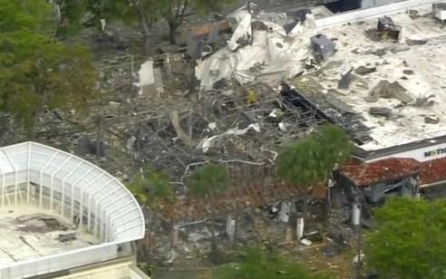 """ארה""""ב: 20 פצועים, מתוכם 2 במצב קשה, בפיצוץ גז בקניון בדרום פלורידה"""