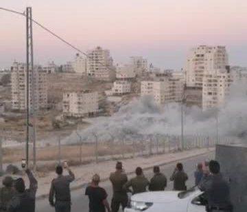 תיעוד בלעדי: השמדת בניין לא חוקי בצור באהר שבמזרח ירושלים