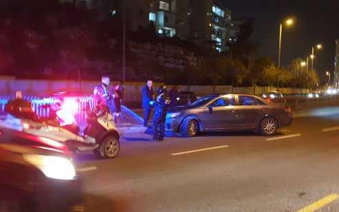 הולכת רגל כבת 50 נפצעה קשה מפגיעת רכב בירושלים