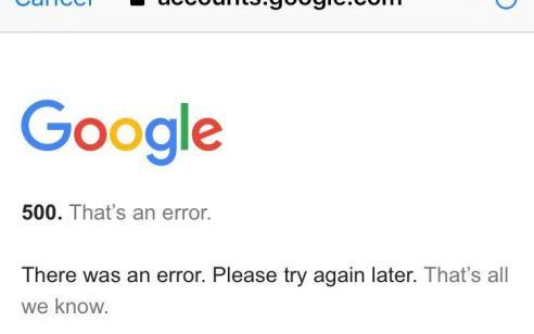 תקלה בשירותי גוגל: משתמשים מדווחים על שיבושים