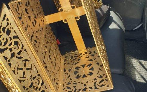 טבריה: בגיר וקטין נעצרו לאחר שפרצו לכנסייה וגנבו פריט מצופה זהב