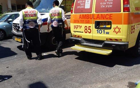 הולך רגל כבן 14 נפגע ממשאית ברמת גן – מצבו בינוני