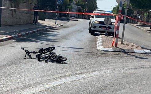 רוכב אופניים נפגע ממשאית בבית שאן ופונה במסוק במצב קשה