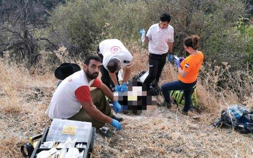 נחל עמוד: גבר כבן 50 פונה במסוק לאחר שאיבד את ההכרה ממכת חום – מצבו קשה