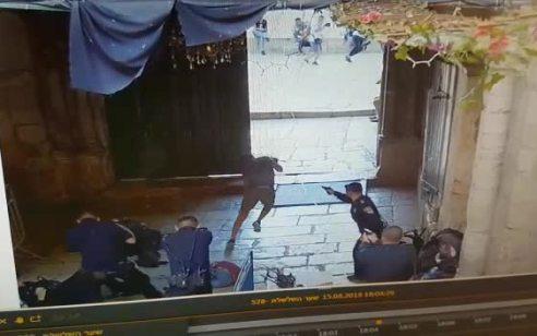 השוטר שנפצע בפיגוע הדקירה בירושלים בשבוע שבעבר שוחרר הבוקר מבית החולים