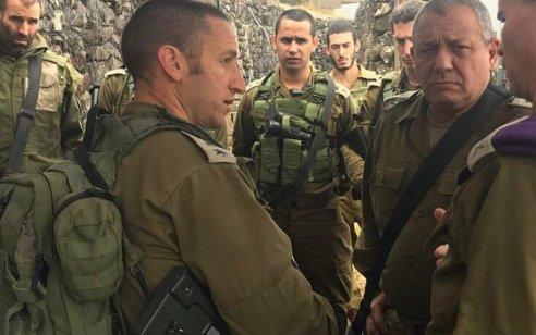 אל״ם ברק חירם שנפצע קשה ואיבד את עינו במלחמת לבנון השנייה וקיבל צל״ש ימונה למפקד חטיבת גולני הבא