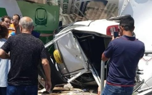 בת 91 נפצעה קשה וגבר נוסף קל בתאונה בין מונית למספר רכבים בירושלים