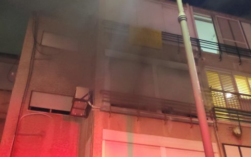 גבר בן 82 נפצע אנוש ואישתו קל עד בינוני בשריפת דירה בקרית ביאליק – במהלך הלילה נקבע מותו