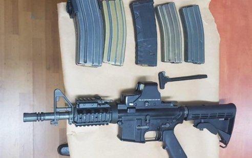 הלילה נעצרו 11 מבוקשים פעילי טרור ונתפס m 16 ותחמושת