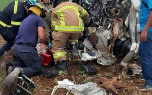מטוס קל נפל בפנמה: 2 נהרגו ואדם אחד נפצע