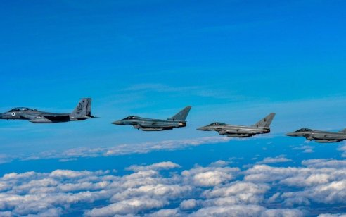 """תרגיל ה-""""Cobra Warrior"""" של חיל-האוויר בבריטניה הגיע לסיומו אתמול"""