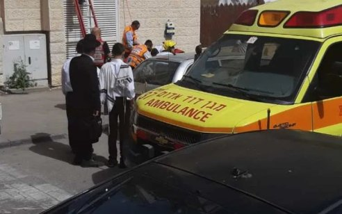 ילד בן 10 נפגע מרכב בבית שמש – מצבו בינוני