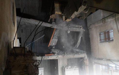 """לאחר שנבנה מחדש: צה""""ל הרס שוב את בית המחבל שרצח את רונן לוברסקיז""""ל"""
