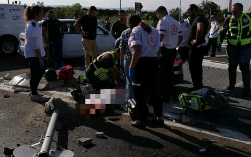 רוכב אופנוע כבן 30 נהרג לאחר שהתנגש בעמוד בכביש 92 סמוך לחוף סוסיתא