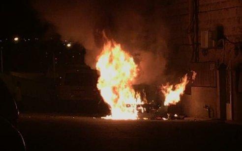 חשד שמטען פיצץ רכב בשכונת בית צפפא שבדרום ירושלים – המשטרה פתחה בחקירה