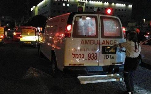 בת 30 נפגעה מרכב בחיפה – מצבה בינוני