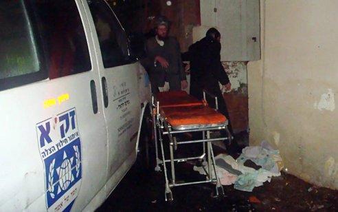 אישה בת 70 נפלה בחדר המדרגות בירושלים ונחנקה למוות