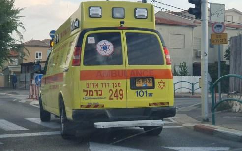 גבר כבן 50 נכווה במפעל בחיפה – מצבו קשה