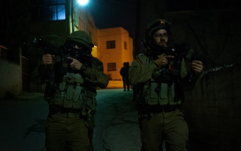 הלילה נעצרו ארבעה מבוקשים פעילי טרור