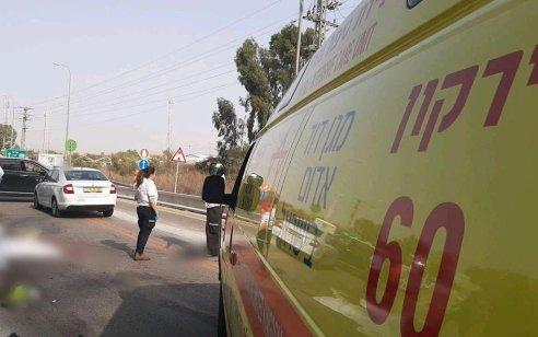 הקטל בכבישים: 2 רוכבי קטנוע נהרגו מפגיעת משאית סמוך לשוהם