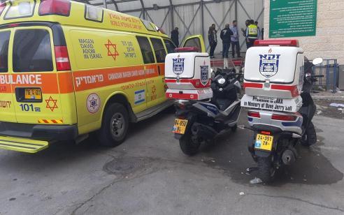פועל בן 50 נמחץ למוות ממעלית משא סמוך לבנייני האומה בירושלים