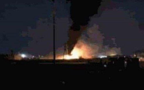 מחסן נשק איראני הותקף בגבול עיראק-סוריה