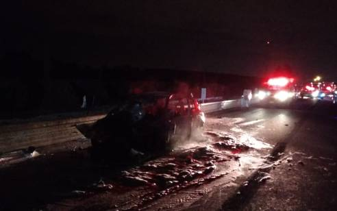 תעלומה בשרון: בן 24 נהרג לאחר שהתנגש במשאית ונמצא דקור ברכבו