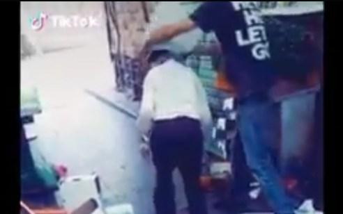 נעצר הערבי שתקף קשישים באזור שוק מחנה יהודה בירושלים – צפו בתיעוד