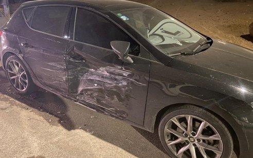 קטינה בת 14 נתפסה נוהגת ברכב תוך שהיא מסכנת את עצמה ואחרים וגרמה נזק ל-2 רכבים אחרים
