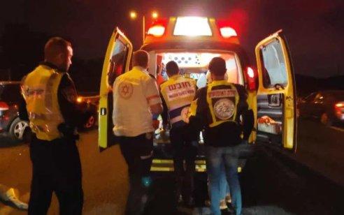 חייל כבן 19 נפצע קשה בתאונה בכביש 808 שבגולן