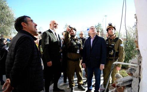 """משלחת המומחים של צה""""ל סיימה את משימתה באלבניה ושבהלארץ"""