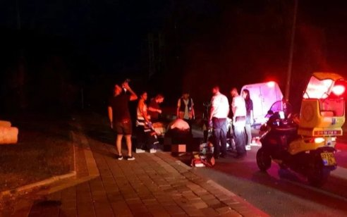 פצועה בינוני וחמישה קל בתאונה בין 2 רכבים בכניסה לרמת בית שמש