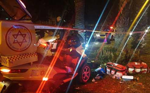 רצח בתל אביב: גבר כבן 30 נפצע קשה – בבית חולים נקבע מותו