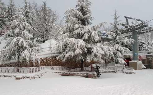 סוף שבוע חורפי: גשמים יירדו ברחבי הארץ, בחרמון יירד שלג   התחזית המלאה