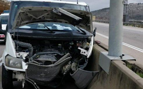 הקטל בכבישים: הרב אברהם גלבמן התנגש במעקה בטיחות בכביש 5 סמוך לברקן – ונהרג