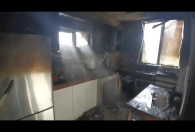 גבר בן 67 נפצע קשה בשריפת דירה ברמת השרון
