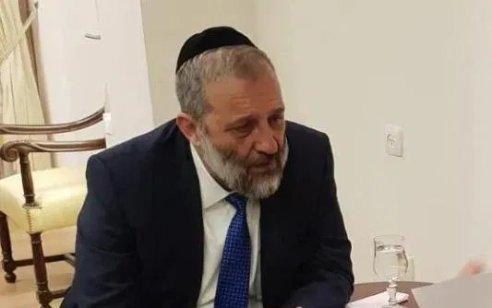 ש״ס תתמוך בהחלת הריבונות בבקעת הירדן ובהתיישבות ביו״ש